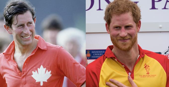 Prințul Charles și Harry, comparație făcută de Harpers Bazaar